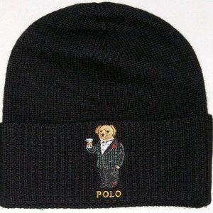 Polo Ralph Lauren Men's TUX MARTINI BEAR Cashmere